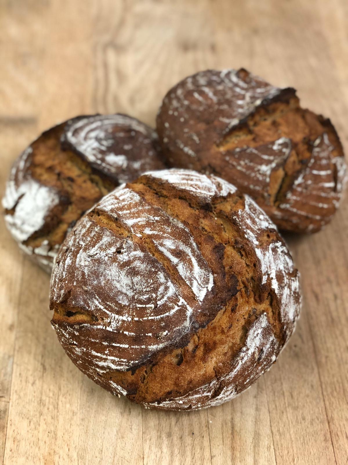 Dinkel Sprossen Brot